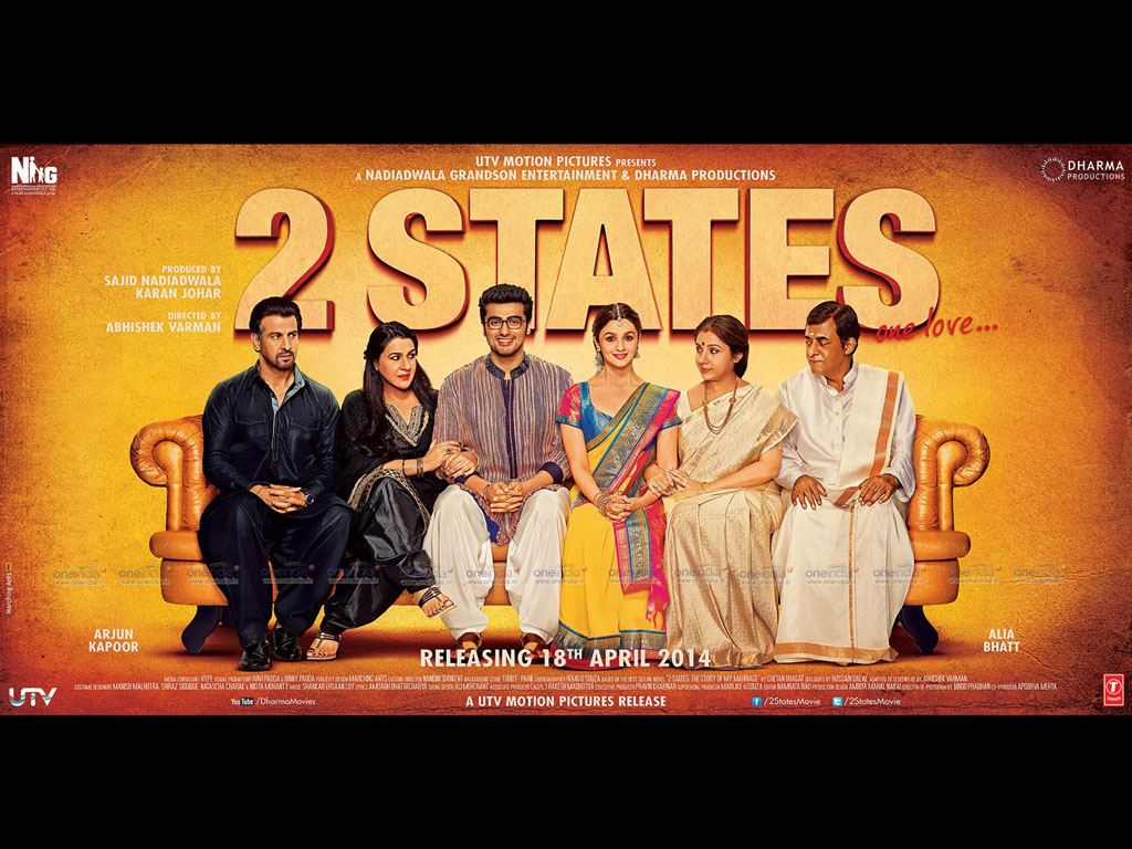 'Two States' In The League Of Books-To-Movies List