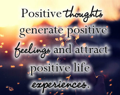 Five Positive Thoughts To Keep You Going