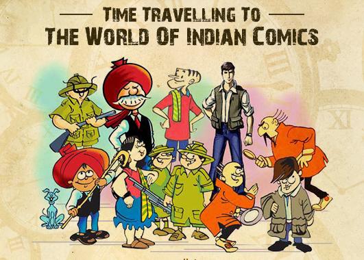 Story of Indian Comics