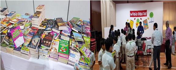 Book Fair at Indian High School Day 1