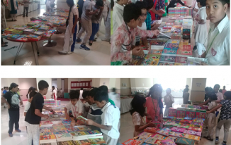 Book Fair at Indian High School Part 1