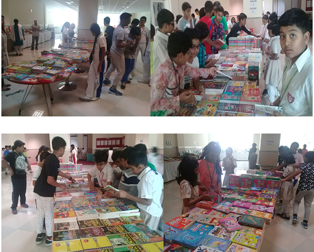 Book Fair at Indian High School Part 1