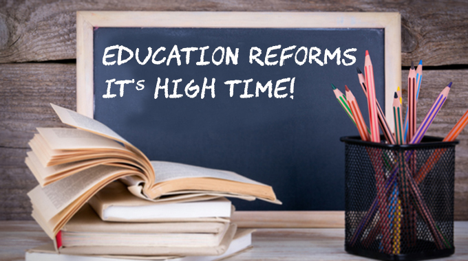 Education Reforms - A Necessity In India